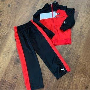 like new boys size 7 puma track suit